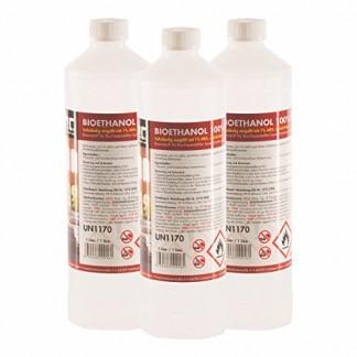 30 x 1 L bioéthanol premium 100% pour cheminée – FRAIS DE PORT OFFERT – bouteilles de 1 L