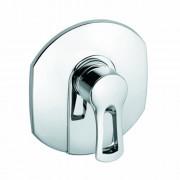 336550562 Kludi MX mitigeur monocommande de douche avec Set d'habillage avec unité fonctionnelle chromé
