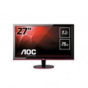 AOC G2260VWQ6 Écran 54,6 cm (21,5 Pouces), VGA, DVI, DisplayPort, 1920 x 1080, 75 Hz, Temps de réponse 1 ms Noir