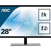 AOC U2879VF Ecran PC LED 28″ 3840 x 2160 1 ms HDMI/VGA/DVI/D-SUB/DisplayPort