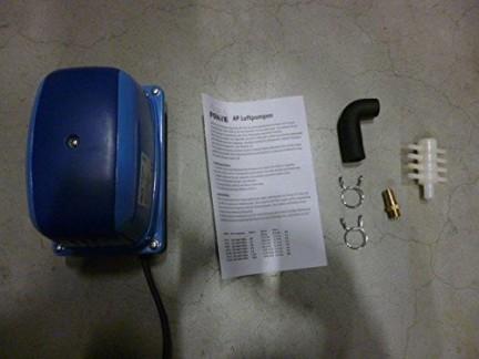 'AQUAFORTE Pompe à air à économie d'énergie AP-35, 20W, 30L/min (à 1m), pression max.: Bleu