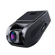 AUKEY Dashcam Full HD 1080P Caméra Voiture Grand Angle 170°, Vision Nocturne, Détection de Mouvement, Capteur-G, WDR et Enregistrement en Boucle, avec 2 Ports Chargeur de Voiture (DR02)