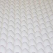 Abeil sur-Matelas Mousse Alvéolée Blanc
