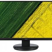 Acer Écran à rétroéclairage LED, interfaces VGA, DVI, temps de réponse 5 ms Glossy Black