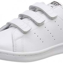 Adidas Stan Smith CF, Baskets Mixte Enfant