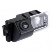 Akhan CAM06-4–Caméra de recul en couleur, aide au stationnement, caméra éclairage de plaque d'immatriculation
