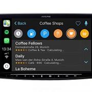 Alpine ilx-f903d–Récepteur multimédia avec écran capacitif 9Pouces, Couleur Noir