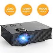[Améliorée] Vidéoprojecteur Mini 2200 Lumens APEMAN Projecteur