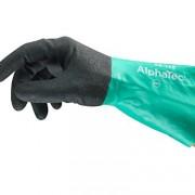 Ansell AlphaTec 58-128 Gants en nitrile, protection contre les produits chimiques et les liquides