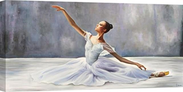 Art Print CAFÉ – Impression sur Toile – Pierre Benson, Ballerina