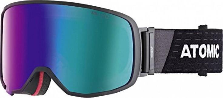 Atomic, Masque de Ski All-Mountain, Unisexe, pour Tout Type de Luminosité, Large Fit, Monture Live Fit, Construction FDL, Écran Stereo HD, Revent L FDL HD