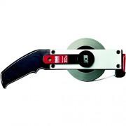 BMI 515021050AF Mètre ruban à cadre Inox, Noir/argent, 50 m x 13 mm
