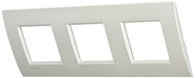 BTICINO LivingLight lne4802m3pr–ll-placa Air 2x 3m Blanc Perle