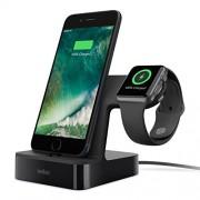 Belkin Station de recharge PowerHouse pour Apple Watch et iPhone Noir