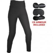 Bikers Gear Australia Limited pour femme avec doublure en Kevlar de protection pour moto Legging avec amovible CE Armour, Noir, taille 18