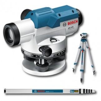 Bosch Professional GOL32DSET Niveau optique avec mire GR500 et trépied BT160