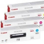 Canon i-sensys 718 bulk Cyan/Magenta/Jaune/Noir-Cartouche toner pour imprimante laser – 2660B002 2662B005 2659B002//// 2661B002 pour LBP7200Cdn MFC8330/LBP8350CDN bulk Pack-Brun