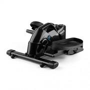 Capital Sports Minioval – Stepper Fitness Compact à résistance magnétique Mouvement elliptique 3 Niveaux de résistance (Ordinateur de Bord, roulettes, poignée de Transport)
