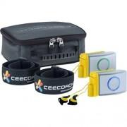 Ceecoach Uni Xtreme Communication et interphone Bluetooth pour l'équitation, Sports d'hiver, l'Industrie, Noir, Duo Kit