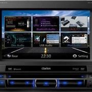 Clarion NZ502E Station multimédia DVD avec GPS Système de Navigation 16:9