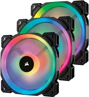 Corsair RGB, Ventilateur Dual Light Loop RGB LED PWM