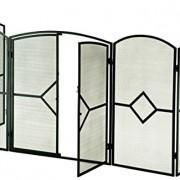 Crannog Poêle Fire écran ~ 81,3cm H Fire Protection avec écran avant de porte entourent cheminée–Enfant–SPARKGUARD écologique pour cheminée 960/1bk