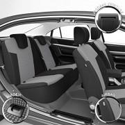 DBS 19465 Housse de siège Auto / Voiture – Sur Mesure – Finition Haut de Gamme – Montage Rapide – Compatible Airbag – Isofix