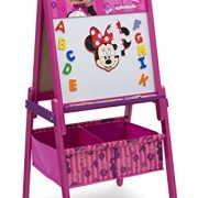 Delta Children Minnie Mouse Child Wooden Easel with Storage
