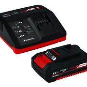 Einhell Starter Kit Batterie Et Chargeur Power X-Change (Lithium-Ion, 18V, batterie et chargeur rapide, compatible avec tous les appareils Power X-Change)