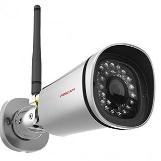 Foscam Caméra IP Intérieur et Extérieur Sans Fil P2P Webcam