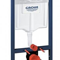 GROHE – 38340001 – Bâti-Support pour WC Suspendu – Mur Porteur ou Non-Porteur – Rapid SL (Import Allemagne)