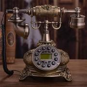 Genre Salle De Séjour Téléphone Antique Rétro Téléphone Chambre Principale Filaire Téléphone Antique Téléphone Cadran Téléphone Européen Conception Vendange Téléphone Téléphone Nostalgie Genre Téléphone Créatif Téléphone