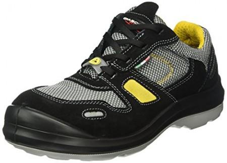 Giasco 31H34C39 Dublin Chaussures de sécurité bas S1P Noir/Gris/Jaune