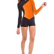 GlideSoul pour Femme Vibrant Stripes Collection – Springsuit 2 mm zippé devant