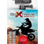 'GoXtreme Enduro Noir caméra d'action 4K, Real 2,7K à 30Images par Seconde, Full HD au 60fps–avec télécommande, 2/écran de 5cm, WiFi Noir