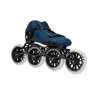 KRF 0016884 Patins à roulettes de Vitesse Mixte Adulte, Bleu