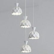 Lampe suspension Lampe suspension à encastrer Lampe à encastrer à 4 têtes Lampe à suspension à 4 feux