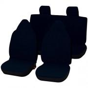 Lupex Shop C1_BS Housses de siège Couleur Unie pour Citroen C1 – Bleu