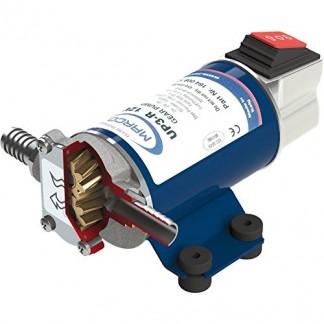 Marco UP3-R Pompe électrique Auto-aspirante réversible à Engrenages hélicoïdaux en Bronze, débit : 15litres/Min