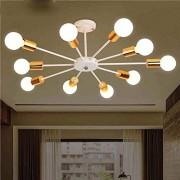 Moderne Araignée Pendentif Créatif Manuellement Règlement Modélisation E27 10 Lumière Max 40W Métal Lampe Appareil Lustre pour Cuisine Lumières Chambre Salon