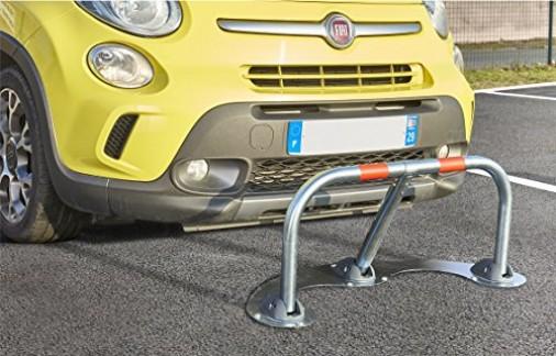 Mottez B301C Barrière de Parking « spécial Macadam », Gris