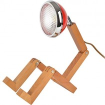 Neoly Lampe articulée Bonhomme LED Bois Mister Woody