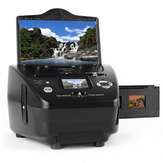 OneConcept Combo Scanner de Photos Diapo indépendant de l'ordinateur