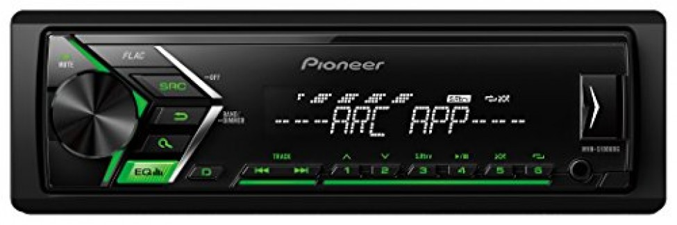 Pioneer Mvh-s100ubg Digital stéréo de Voiture avec Tuner RDS, USB et auxiliaire