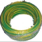 Rollo de cable flexible unipolar 6 mm2 color tierra