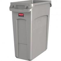 Rubbermaid Commercial Products Slim Jim Collecteur de déchets avec conduits d'aération, plastique
