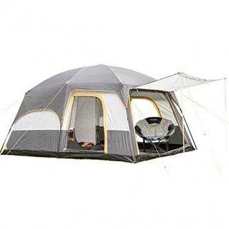 SKANDIKA Tønsberg 5 – Tente familiale avec Tapis de Sol Cousu – 5 Personnes – 420 x 300 cm