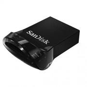 Sandisk Ultra FIT USB 3.1 16Go USB 3.0 (3.1 Gen 1) Type A Noir Lecteur USB Flash – lecteurs USB Flash (16 Go, USB 3.0 (3.1 Gen 1), Type A, sans Capuchon, Noir)