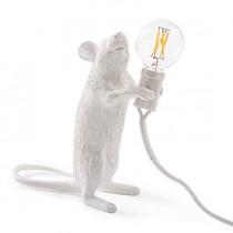 Seletti – Lampe Mouse Debout (Blanc)