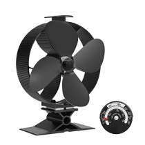Stove Fan for Wood Stove, Fireplace, Wood Burnner Log